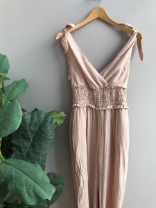 Tess Shoulder Tie Jumpsuit