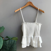 Load image into Gallery viewer, Smocked Ruffle Tank