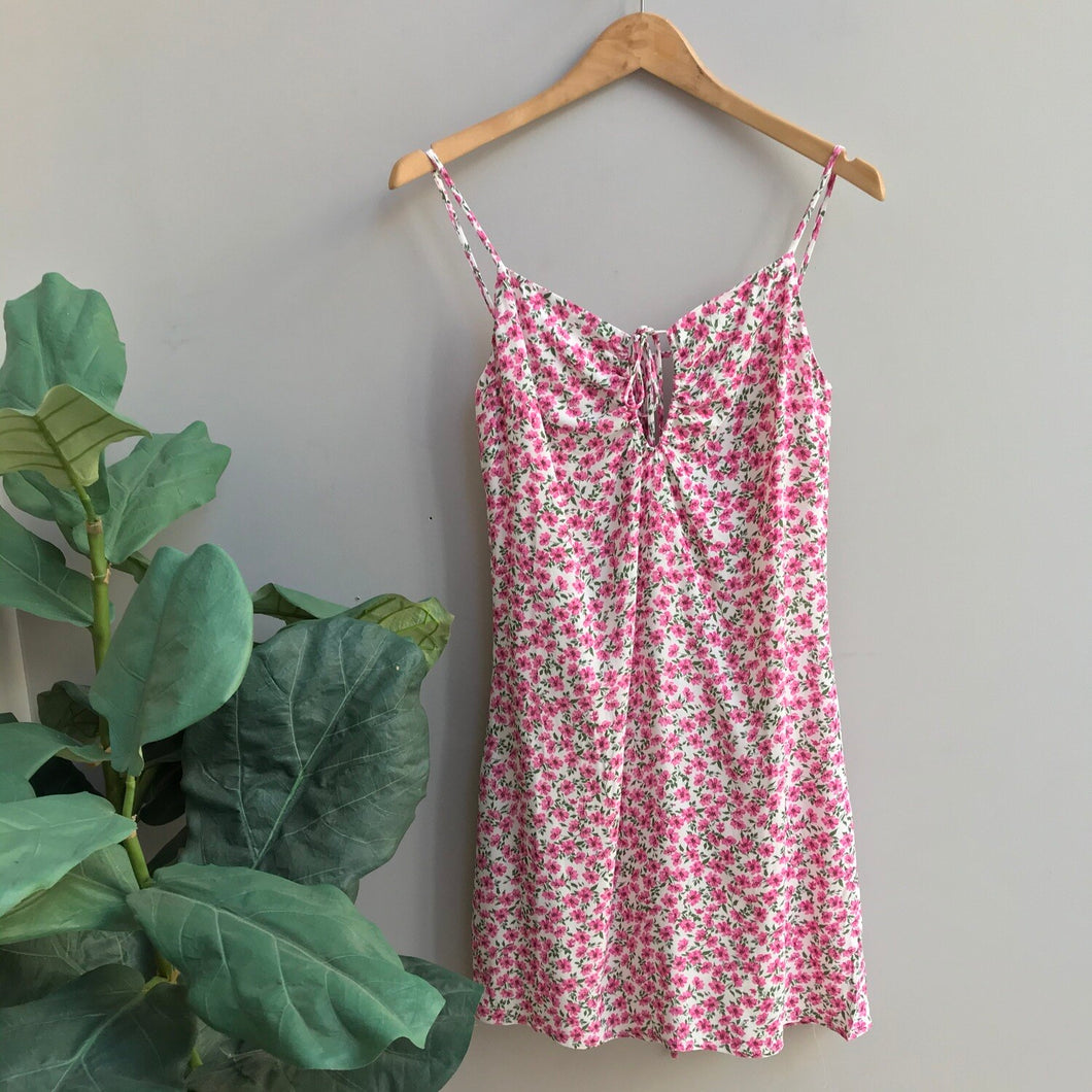 Strawberry Floral Dress