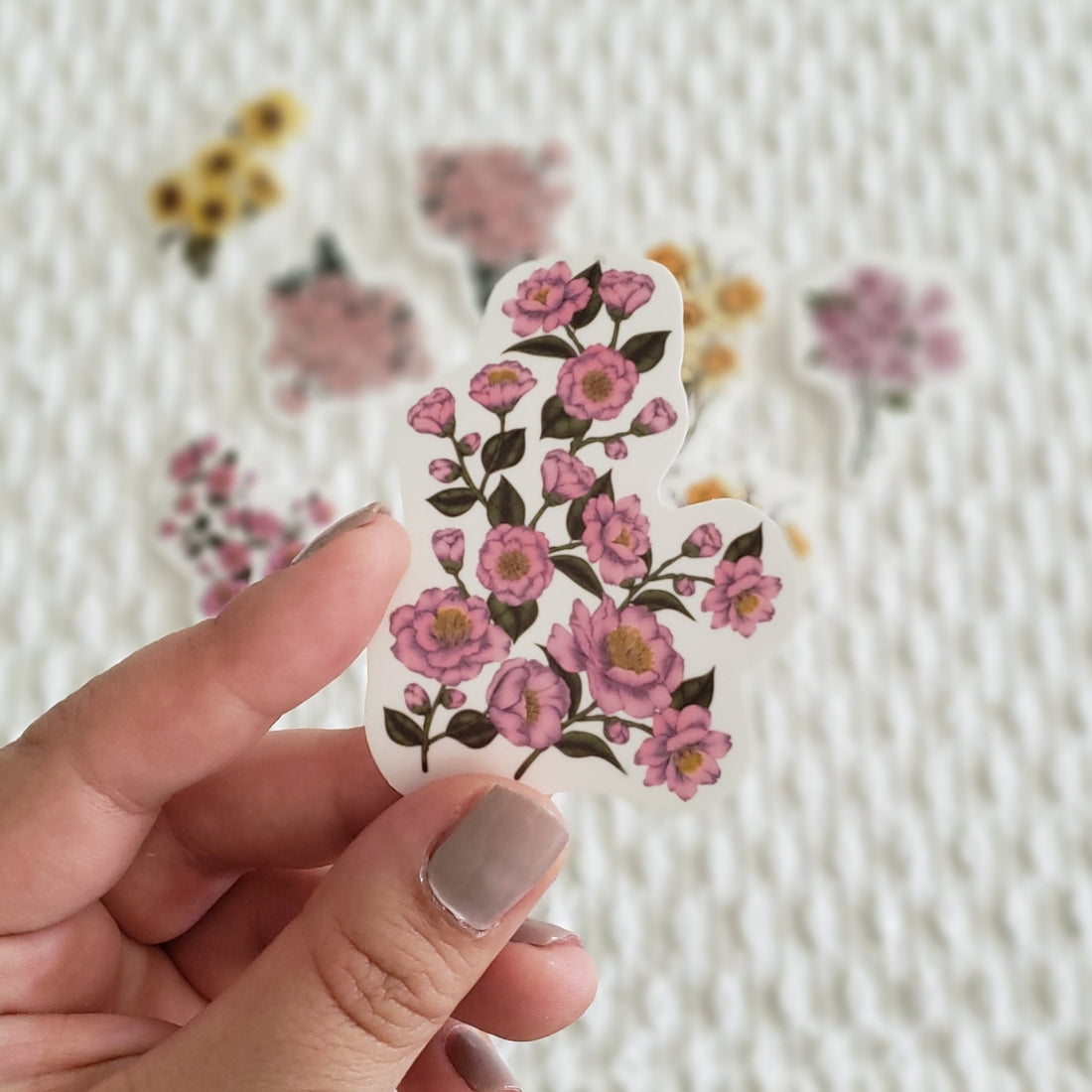 Spring Wildflowers Sticker Pack