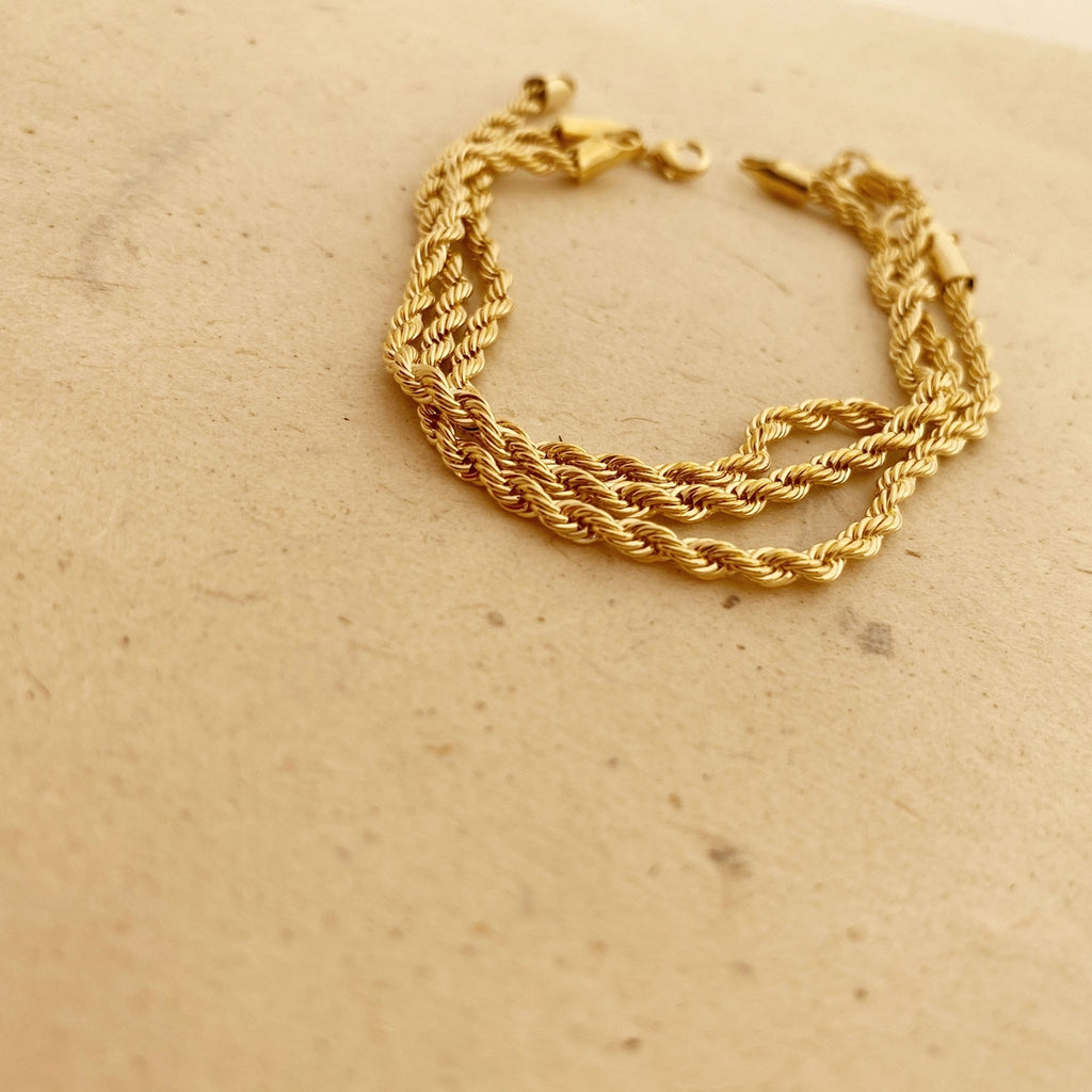 Rope Chain Braclet