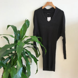 Ashley Ribbed Sweater Dress