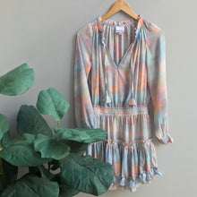 Load image into Gallery viewer, Breanna Tie Dye Smock Dress