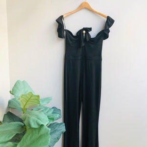 Tina Off Shoulder Jumpsuit