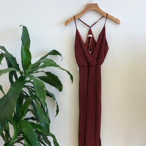 Ruby Surplice Maxi Dress