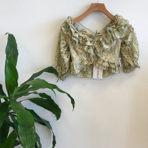 Iris Off Shoulder Lace Top