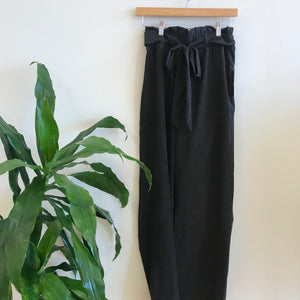 Nora Wide Leg Belted Trousers