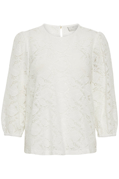 molly Lace Blouse 3/4 sleeve