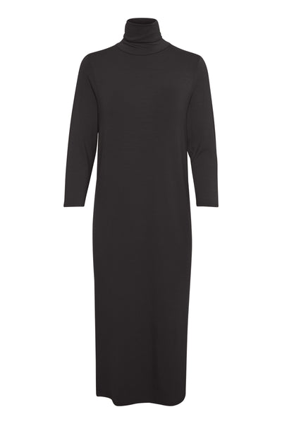 Part Two Rebbie roll neck dress