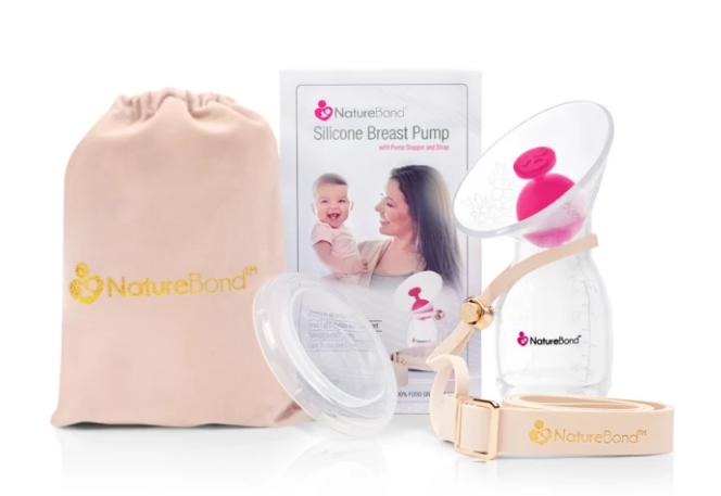 NatureBond Silicon Breast Milk Pump