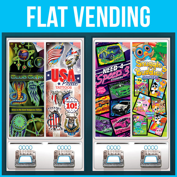 Vending Supply Flat Products