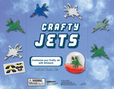 Crafty Jets & Stickers - 2 Inch Capsules  (250 qty)