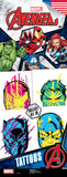 Avengers Assemble 4 Tattoos - Marvel