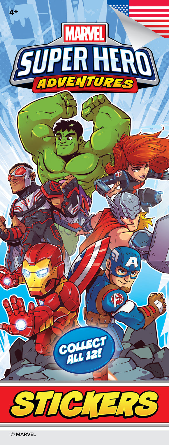 Avengers Super Hero Adventures Stickers - Marvel