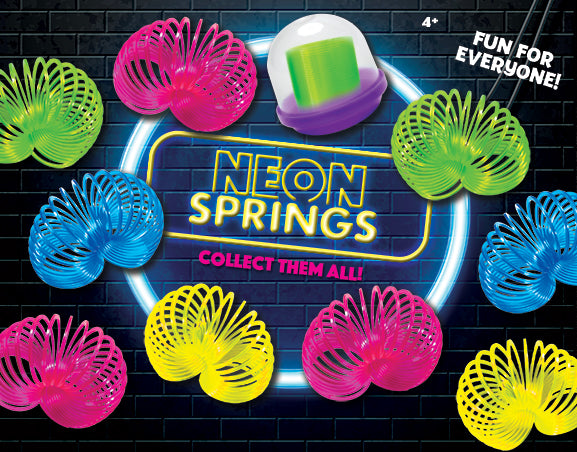 Neon Springs - 2 Inch Capsules  (250 qty)