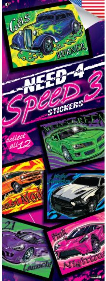 Need 4 Speed 3 Stickers