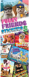 Furry Friends 5 Stickers
