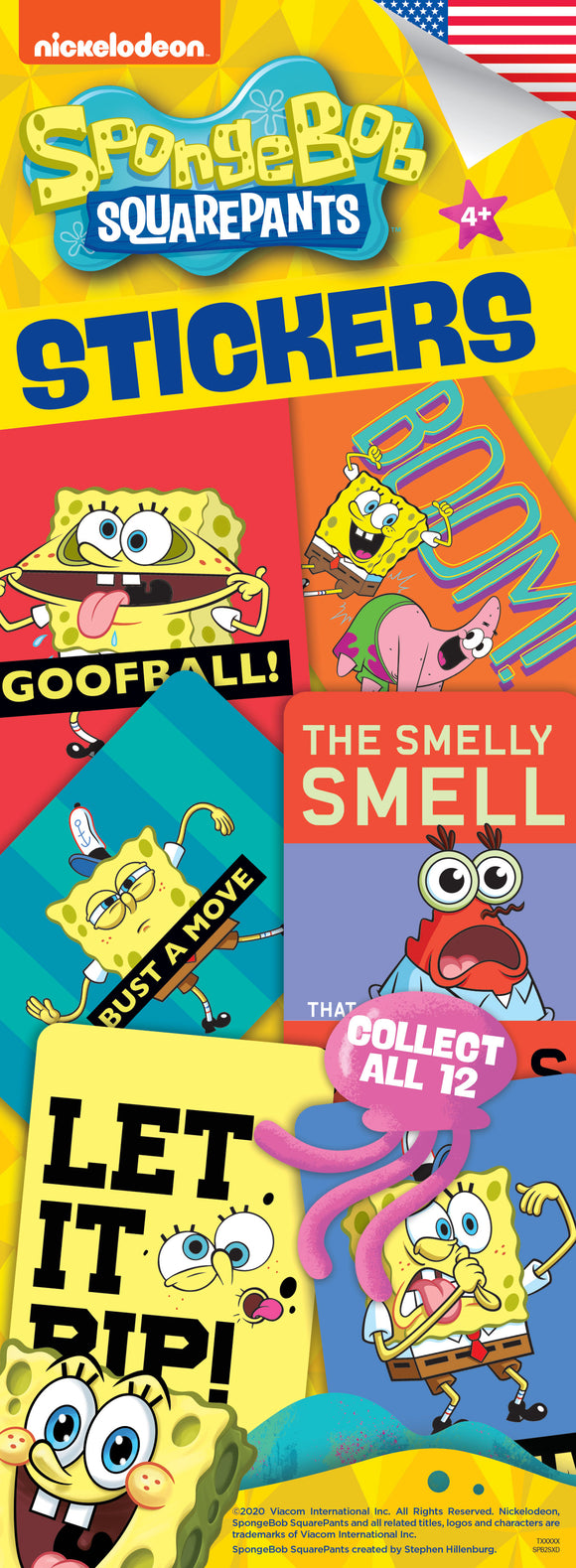 SpongeBob SquarePants 2 Stickers - Nickelodeon