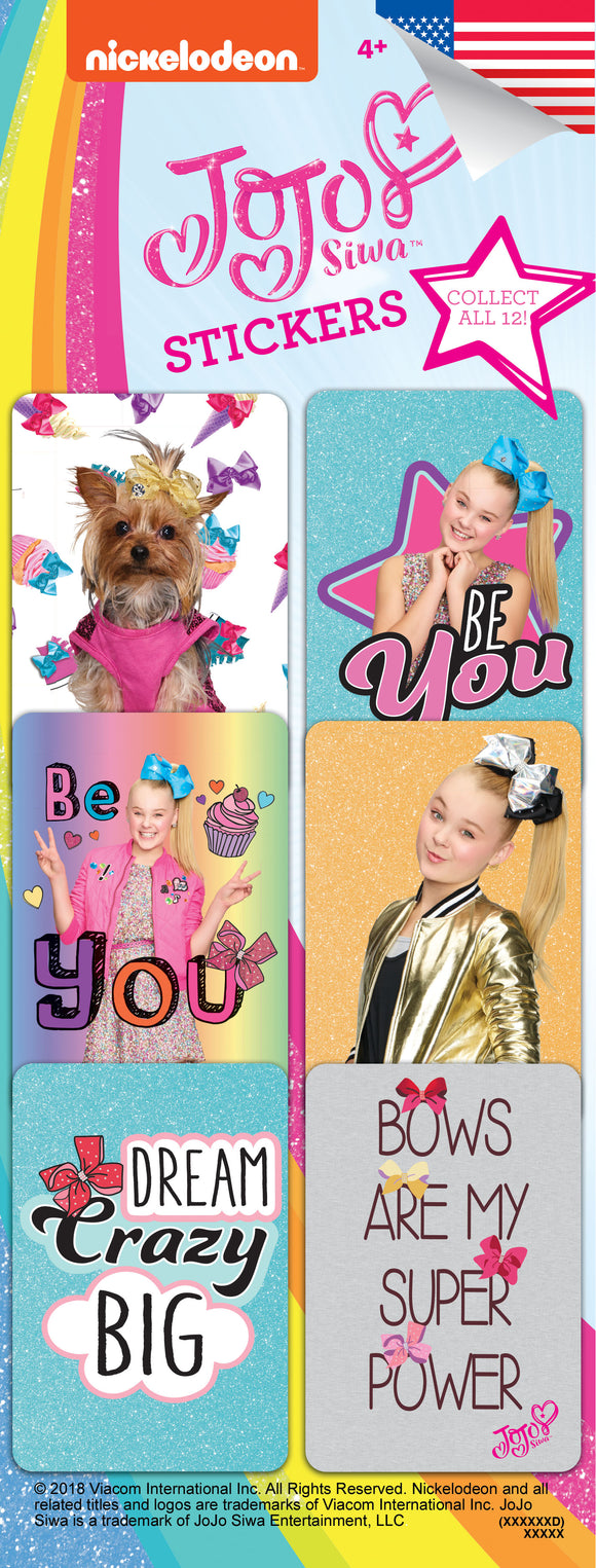 JoJo Siwa Stickers  - Nickelodeon