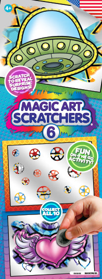 Magic Art Scratcher 6 - Fun Activity to keep kids busy!