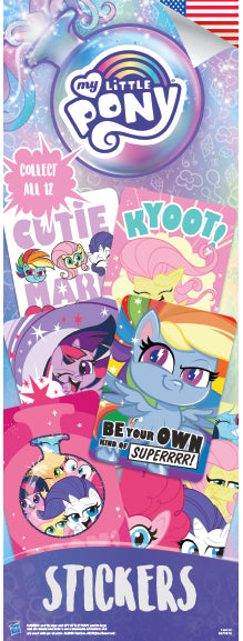 My Little Pony 3 Sticker - DISPLAY CARD