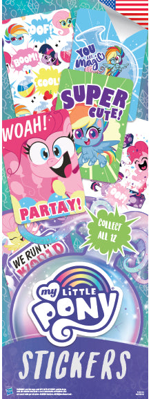 My Little Pony 3 Stickers - Hasbro