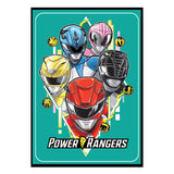 Power Rangers Retro Stickers - Hasbro