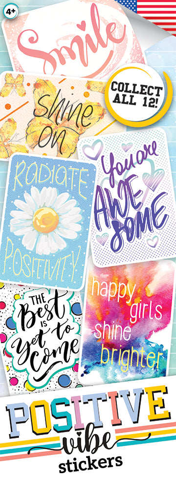 Positive Vibes Stickers