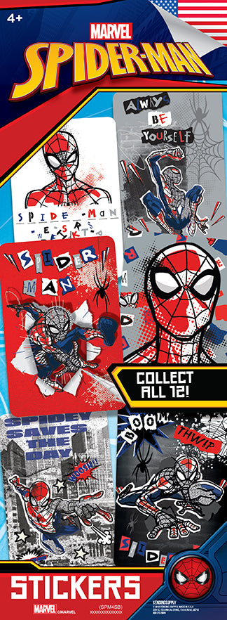 Spider-Man 4 Stickers - Marvel
