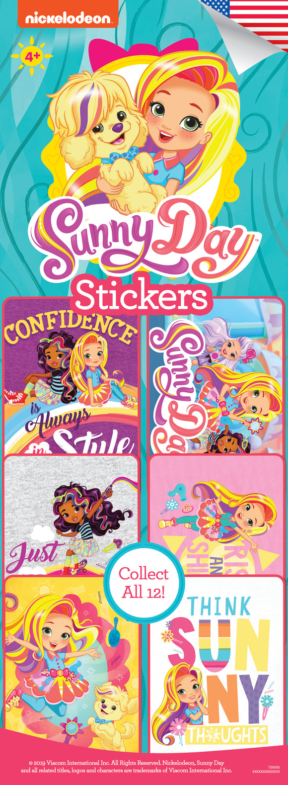 Sunny Day Stickers - Nickelodeon