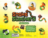 Snake Fidget Stackers - 2 Inch Capsules  (250 qty) ON SALE!