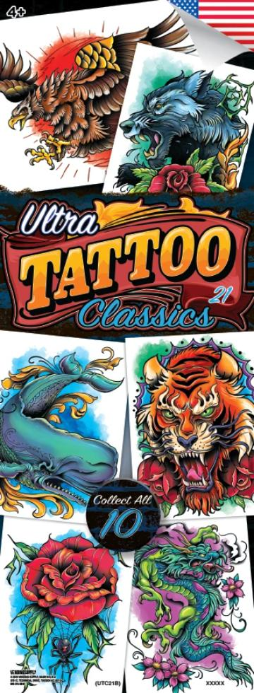 Ultra Tattoo Classic 21 Tattoos - NEW RELEASE SOON