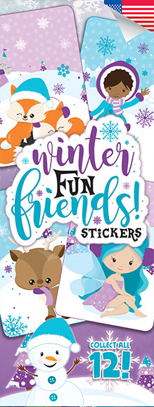 Winter Fun Friends Stickers