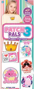 Patch Pals 3 - FABRIC Tattoos