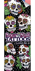 Sugar Skulls Tattoo - DISPLAY CARD