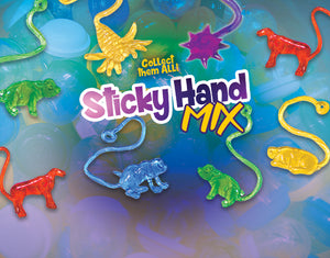 Gooey Sticky Mix - 1 Inch Capsules - DISPLAY CARD
