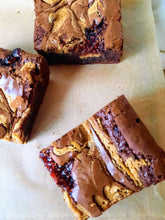 Load image into Gallery viewer, PB&J Brownies