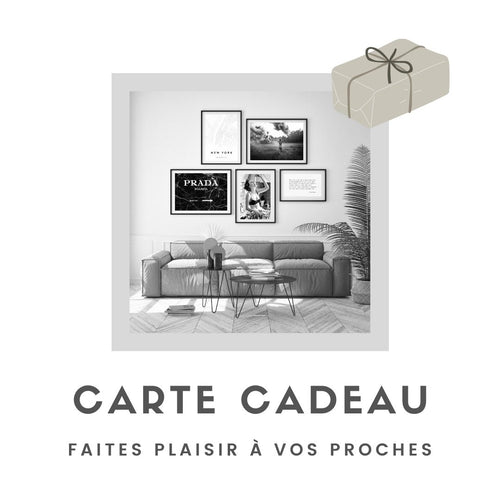 Carte cadeau - Home-France