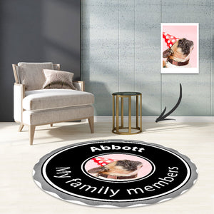 Guinness beer carpet round rugs bedroom living room decos mat