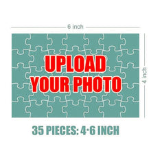Load image into Gallery viewer, Personalized Photo Jigsaw Puzzle - 35 pieces