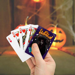 Halloween Custom Poker Cards Personalized One-Side Playing Cards