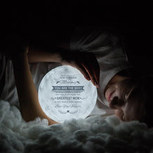 Load image into Gallery viewer, Best Gift Engraved Moon Lamp To My Gorgeous Mommy