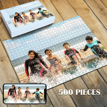 Load image into Gallery viewer, Custom Photo Jigsaw Puzzle Best Personalized Gift 35-1000 pieces - faceonboxer