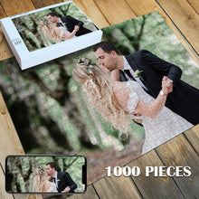 Load image into Gallery viewer, Custom Photo Jigsaw Puzzle Best Personalized Gift 35-1000 pieces