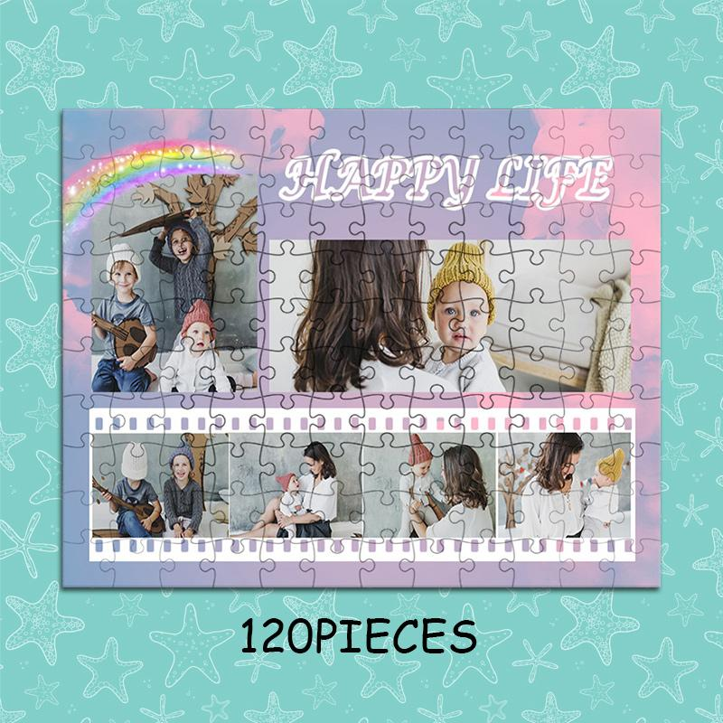 Custom Photo Jigsaw Puzzle Best Personalized Gift 120-1500 pieces - faceonboxer