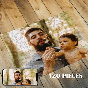 Custom Photo Jigsaw Puzzle Best Personalized Gift 35-1000 pieces
