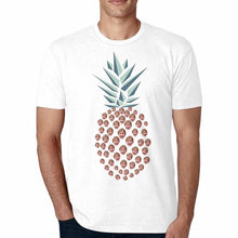 Load image into Gallery viewer, Custom Pineapple-Shape Photo Engraved Face T-shirt