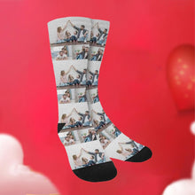 Load image into Gallery viewer, Custom Funky Gift Family Face Socks