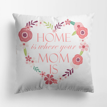Load image into Gallery viewer, Custom Gift Personalized Pillow Home is Where Your Mom is