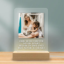Load image into Gallery viewer, Custom Lamp Acrylic Plaque Night Light Perfect Mother's Day Gifts